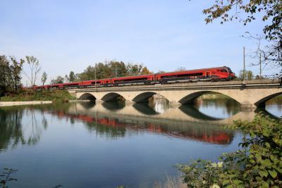 Saalachbrücke © DB AG / Urheber: Uwe Miethe